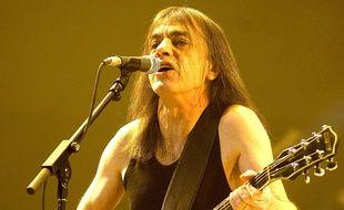 Malcolm Young, guitariste de AC/DC en 2008