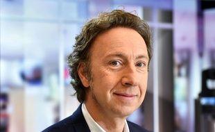 Portrait de l'animateur Stéphane Bern.