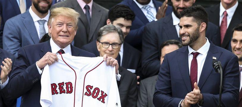 Après le Foot US et la NBA, au tour du baseball de se confronter à Trump.