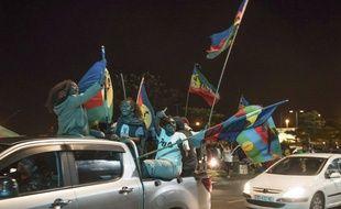 Des indépendantistes à Nouméa le 4 octobre 2020 (illustration).