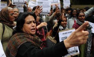 Une manifestation pour réclamer des peines plus lourdes pour les violeurs, à New Dehli, en février 2013.