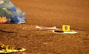 Le suspect de l'attentat de Berlin Anis Amri abattu par la police à Milan en Italie, le 23 décembre 2016.