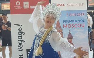 La nouvelle ligne directe entre Montpellier et Moscou est ouverte depuis le 2 juin.