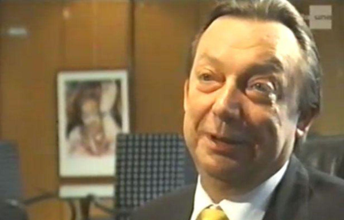 Michel Daerden, ici lors d'une interview vidéo, a été hospitalisé pour insuffisance respiratoire ce mercredi 18 avril – Capture vidéo/ Dailymotion