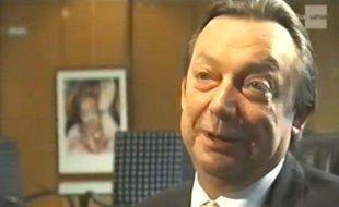 Michel Daerden, ici lors d'une interview vidéo, a été hospitalisé pour insuffisance respiratoire ce mercredi 18 avril
