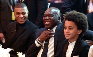 Mbappé, père et fils.