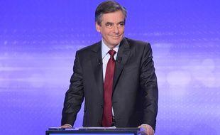 François Fillon lors du dernier débat de la primaire à droite, le 17 novembre.
