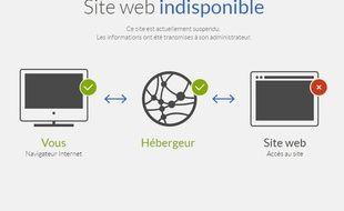 Le site internet des militants anti-avortement « Les Survivants » utilisant le nom de domaine « simoneveil.com » a été suspendu