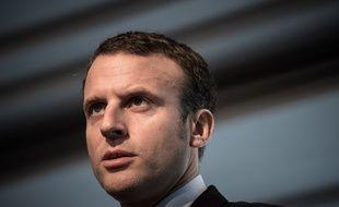 Emmanuel Macron à Paris, le 26 octobre 2016.