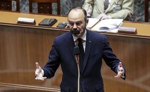Edouard Philippe, le 21 mars 2020 à l'Assemblée.