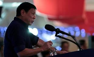 Le président Duterte à Manille le 14 juillet 2016