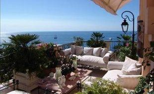 Illustration d'une villa, ici à Monaco.