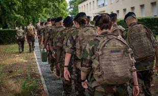 Image d'illustration de militaires français.