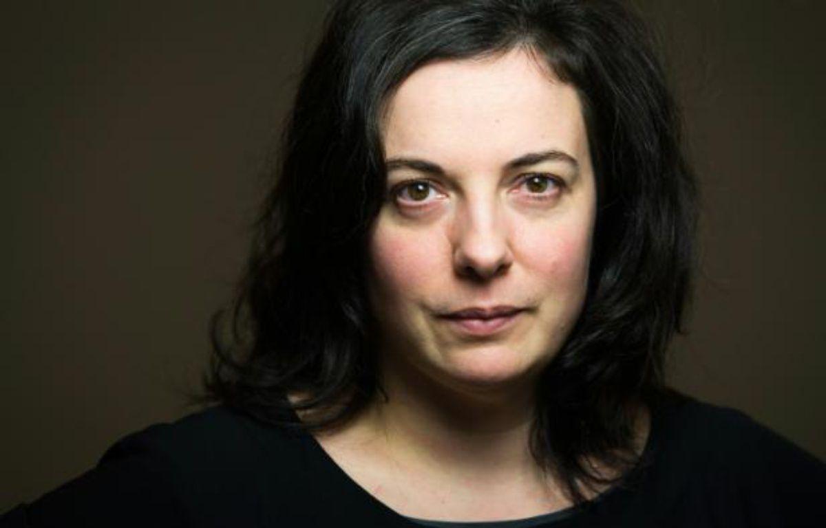 Emmanuelle Cosse, alors secrétaire nationale d'EELV, le 9 janvier 2014 à Paris – JOEL SAGET AFP