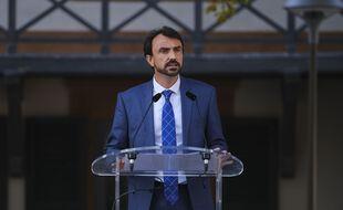 Le maire EELV de Lyon Grégory Doucet, ici le 8 septembre à Fourvière.