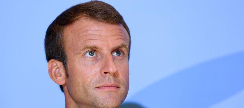 Emmanuel Macron, le 6 septembre 2018.