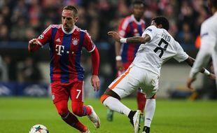 Franck Ribéry s'est blessé à la cheville il y a plus d'un mois.