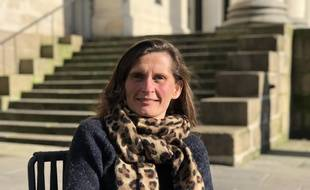 Eleonore Revel, tête de liste Rassemblement national à Nantes