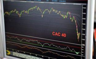 Les résultats des groupes du CAC 40 ont souffert dans l'ensemble en 2011 de la crise de la dette en Europe et de ses effets sur l'économie, même si ceux bien implantés à l'international ont résisté, et les difficultés de l'année écoulée incitent les patrons à la prudence pour 2012.