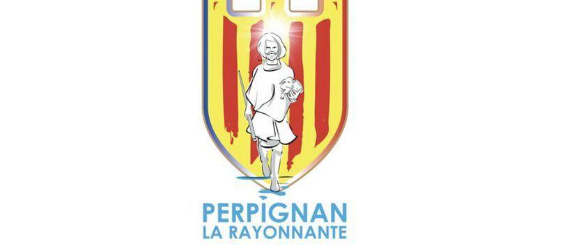 Le nouveau logo de la ville de Perpignan