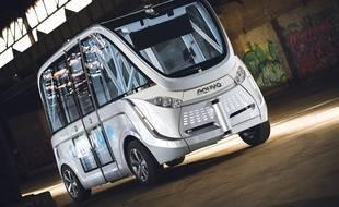 La future navette de Lille 1 est fabriquée par le constructeur français Navya.