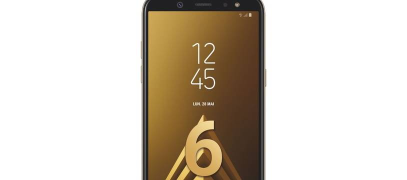 Le Samsung Galaxy A6 (2018) lancé à 309 euros.