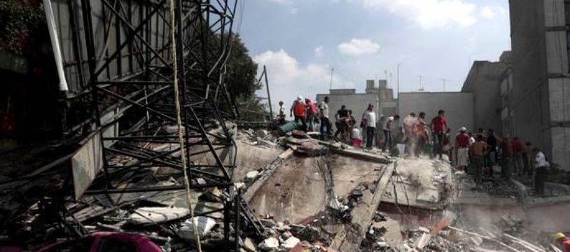 Mexico dévastée par un séisme