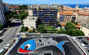 La Sardine de Marseille réalisée par Sardo Marsiho.