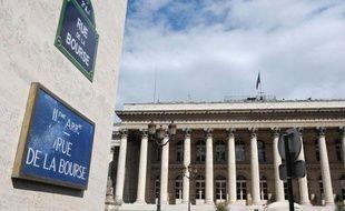 La Bourse de Paris, le 8 août 2011.
