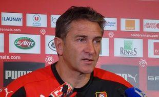 Philippe Montanier n'est plus l'entraîneur du Stade Rennais.