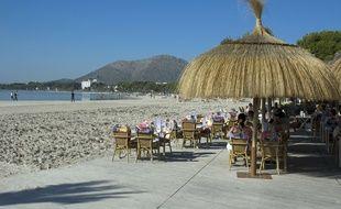 Majorque, Alcudia Beach.