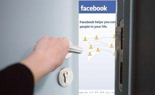 Des données d'utilisateurs de Facebook se sont retrouvées sur le dark web (illustration).