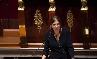 Aurore Bergé à l'Assemblée nationale, le 15 octobre 2019.