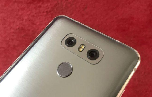 Le LG G6 est équipé d'un capteur standard et d'un capteur grand angle.