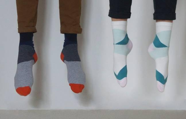 La marque de chaussettes solidaire Bon pied