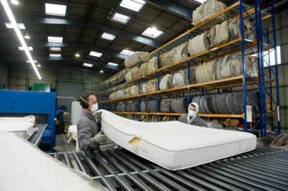 Le recyclage un nouveau ressort pour les matelas - Usine de meuble en belgique ...