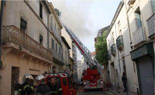 Plus d'une trentaine de sapeurs pompiers de trois casernes ont été mobilisés.