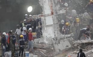 Le bilan du tremblement de terre de Mexico est de 225 morts à 17h