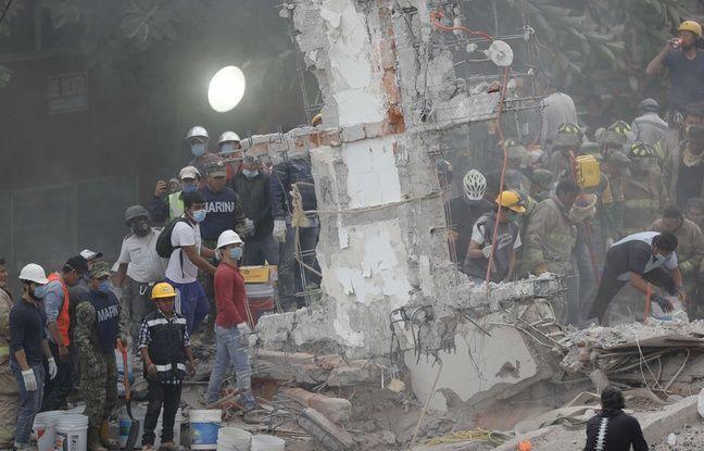 Séisme au Mexique: «Ça tremblait tellement qu'il fallait se tenir, qu'il était impossible de bouger»