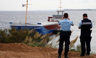 Un cargo s'est échoué sur les côtes de Bonifacio en Corse