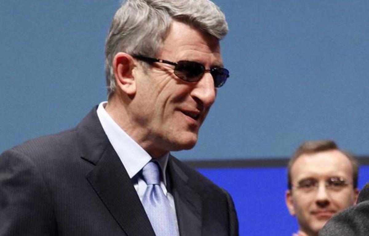 Philippe de Villiers, le 23 février 2010 au Mans. – SIPA