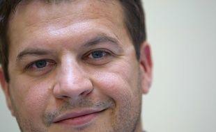L'écrivain Guillaume Musso, le 8 mars 2011 à Paris.