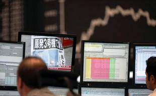 Trader à la Bourse de Francfort