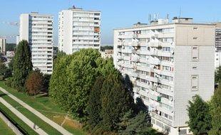 Des immeubles d'habitation de Clichy-sous-Bois, le 11 octobre 2010.