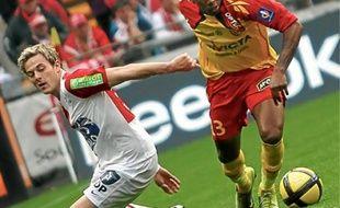 Nolan Roux (à gauche) a marqué 25 buts en trois saisons passées à Brest.