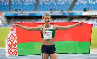 Krystsina Tsimanouskaya a refusé d'embarquer dans l'avion censé la rapatrier de force à Minsk.