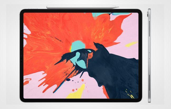Le nouvel iPad Pro, dévoilé le 30 octobre 2018 par Apple.