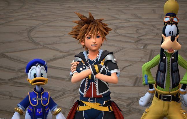 Sora, Donald et Dingo, les trois principaux héros de cette aventure.