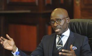 Le ministre de l'Intérieur Malusi Gigaba.
