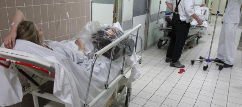 Les urgences medicales de HEH (Hopital Hedourd heriot) de Lyon, le 15 mai 2013